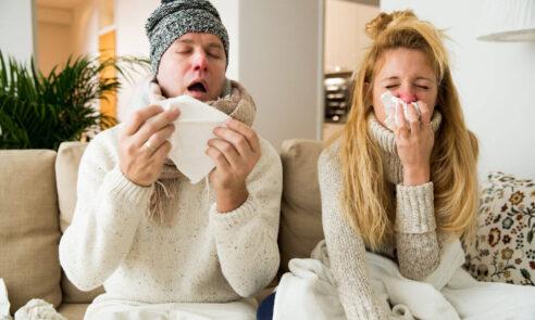Grippe – Was ist der Unterschied zur Erkältung?