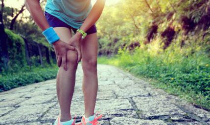 Physiotherapie bei nicht operierten Kreuzbandrissen