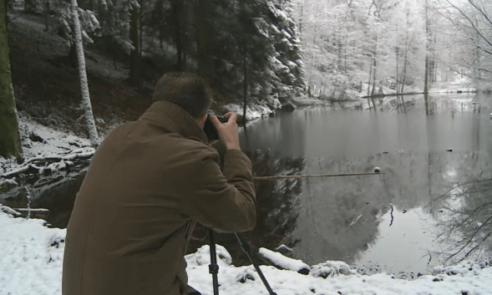 Chirurg Jürg Metzger kann beim Fotografieren in der Natur abschalten