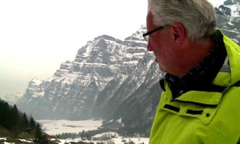 Chirurg André Rotzer ist ein echter Bergler und erholt sich bei Schneeschuhtouren.