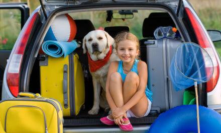Feriengepäck ins Auto laden – mit zwei Kindern!