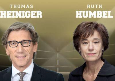 Zhomas Heniger und Ruth Humbel