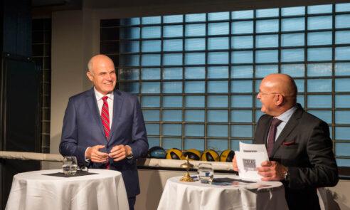 Schlagaustausch im Ring – Qualität im Gesundheitswesen: USZ-CEO Gregor Zünd im Sparring mit Gästen