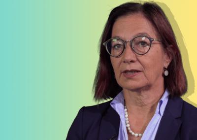 Yvonne Gilli Mitglied Zentralvorstand FMH