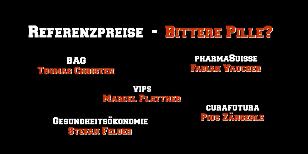 Referenzpreise – Bittere Pille?