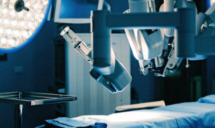 Innovation mit roboterassistiertem Eingriff