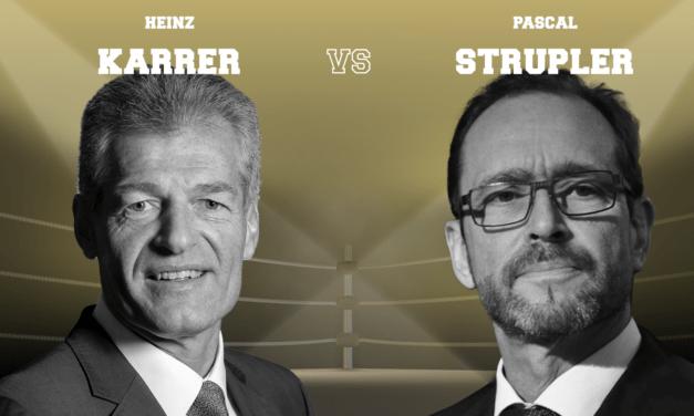 BAG-Direktor Strupler und economiesuisse-Präsident Karrer – Krisenbewältigung nach Corona