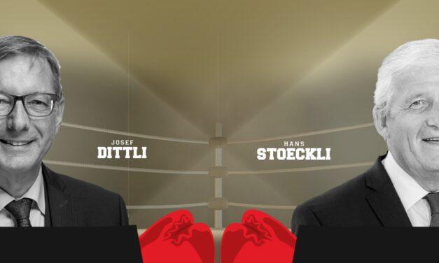 Ständerat Stöckli und Ständerat Dittli im Ring: Kampf um freie Arztwahl