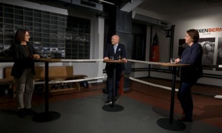 FRAUEN AN DIE (GESUNDHEITS)MACHT! Neue FMH-Präsidentin und SBK-Geschäftsführerin im Sparring bei BOXENBERN